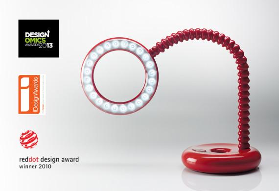 Winner- Red Dot design award 2010<br>Winner- Designomics award 2012<br>Winner- I design award 2013