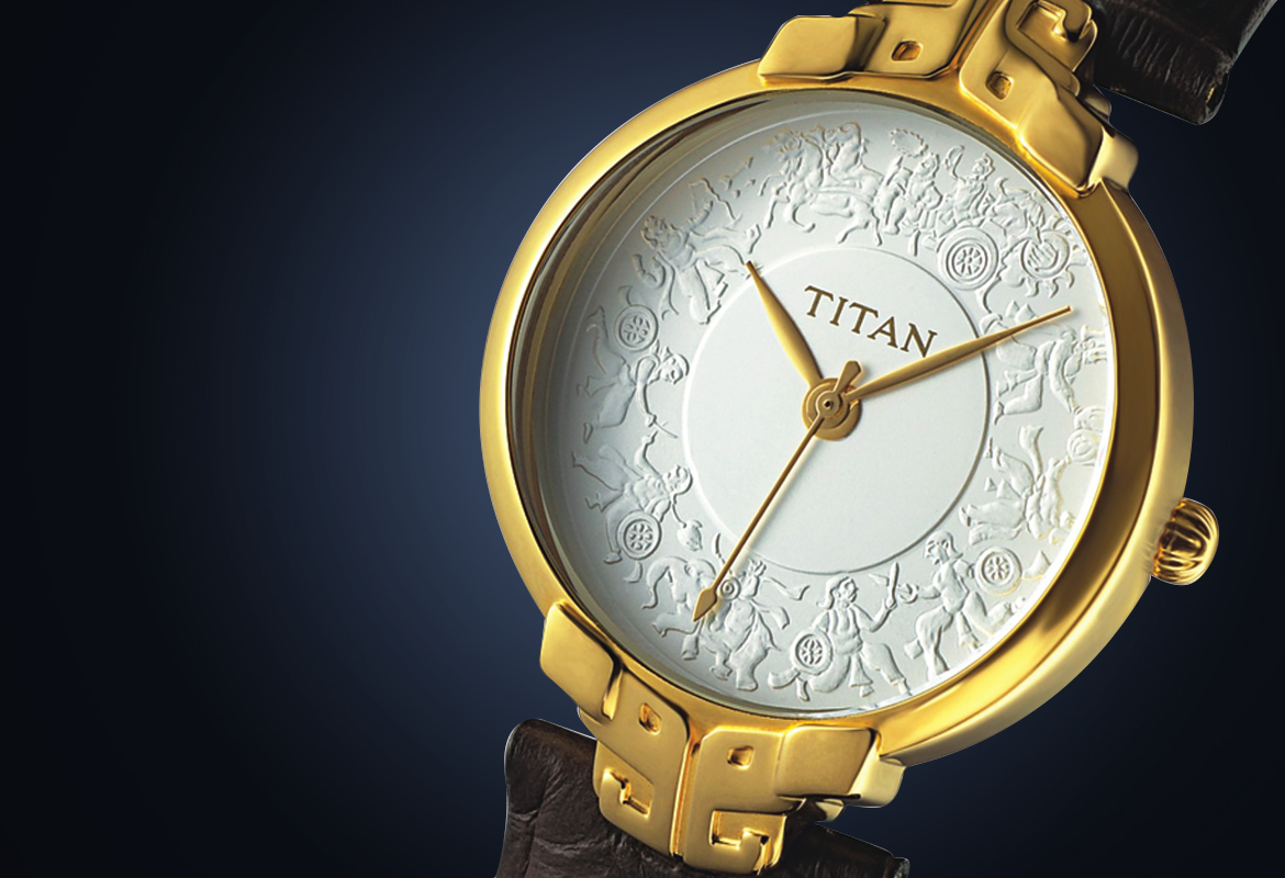 Titan heritage watch4
