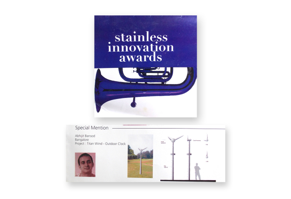 Special Mention – Jindal Stainless Innovation Award 2004