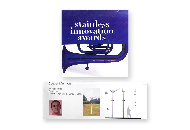 Stainless innovation award