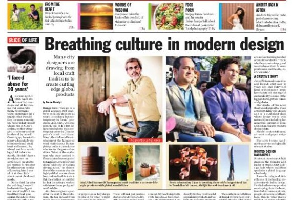 Breathing culture In modern Design