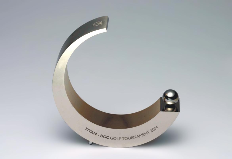 Golf trophy 2