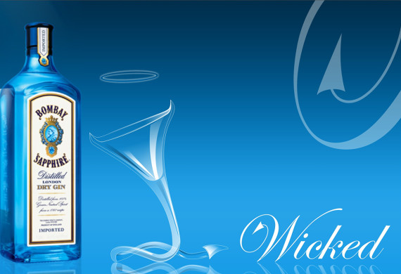 One of five invited designers from India – Bombay Sapphire Martini Glass Design Competition 2006