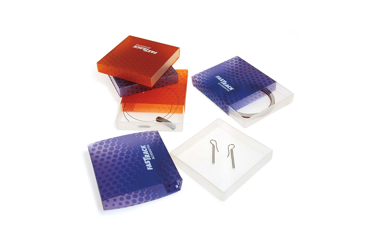 Fastrack Steel jewellery packaging