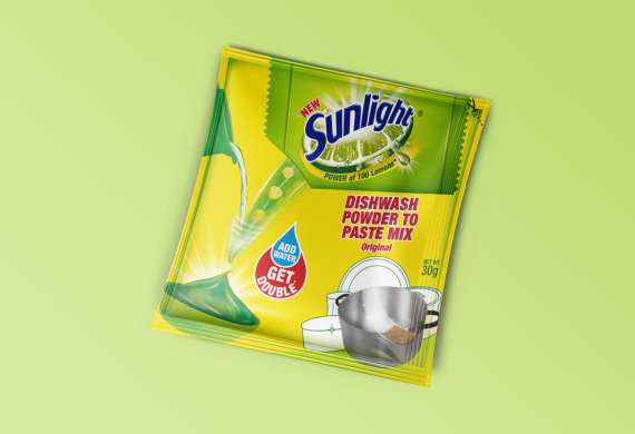 <h2>Unilever Sunlight Dishwash Powder<h2>
